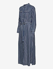 GAP - LS DRAPEY SHIRTDRS -STP - everyday dresses - blue stripe combo s - 2