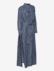 GAP - LS DRAPEY SHIRTDRS -STP - everyday dresses - blue stripe combo s - 3