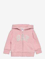 GAP - BAS LOGO FT FZ - kapuzenpullover - icy pink - 0