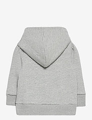 GAP - BAS LOGO FT FZ - kapuzenpullover - light heather grey b08 - 1