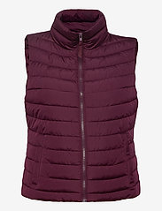 GAP - Upcycled Lightweight Puffer Vest - puffer vests - secret plum - 1