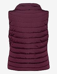 GAP - Upcycled Lightweight Puffer Vest - puffer vests - secret plum - 2