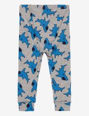 GAP - babyGap Shark Long Sleeve PJ Set - sets - h grey b08 combo n - 3
