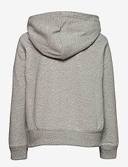 GAP - IE FT BASIC ARCH FZ - hoodies - light heather grey b08 - 1