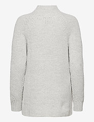 GAP - Mockneck Tunic Sweater - turtlenecks - light heather grey - 1