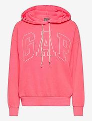 GAP - Gap Logo Easy Hoodie - hoodies - sassy pink - 0