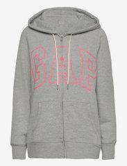 GAP - Gap Logo Easy Hoodie - hoodies - b10 grey heather - 0