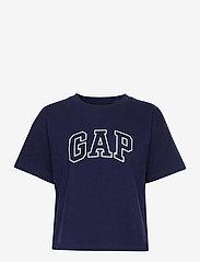 GAP - GAP EASY SS TEE - t-shirts - navy uniform - 0