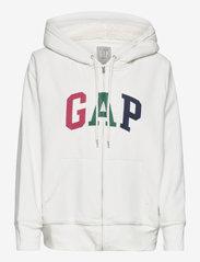 GAP - Gap Logo Sherpa Hoodie - hoodies - carls stone - 0