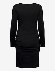 GAP - Maternity Scoopneck Henley Dress - midi dresses - true black - 1