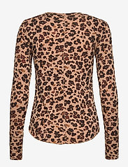 GAP - Feather T-Shirt - long-sleeved tops - leopard print - 1