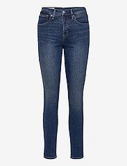 GAP - High Rise True Skinny Jeans with Secret Smoothing Pockets - skinny jeans - dark indigo v2 - 0