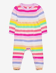 GAP - Baby Happy Stripe One-Piece - langärmelig - multi stripe - 0