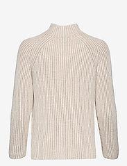 GAP - Asymmetrical Button Mockneck Raglan Sweater - jumpers - marshmallow 11-4300tcx - 1
