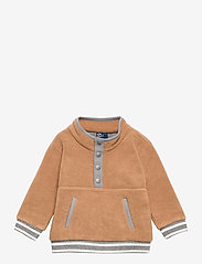 GAP - Baby Fleece Cozy Jacket - fleecetøj - holiday cocoa - 0