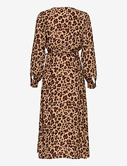 GAP - Wrap-Front Maxi Dress - wrap dresses - leopard print - 1