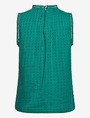 GAP - Shirred Lace Top - Ærmeløse bluser - teal green 19-4922 tcx - 1