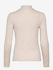 GAP - LS COZY RIB TNK - turtlenecks - oatmeal heather b0294 - 1