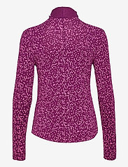 GAP - Funnel-Neck Print T-Shirt - long-sleeved tops - pink floral 1 - 1