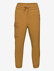 GAP - Kids Lined Hybrid Pull-On Pants with QuickDry - trousers - palomino brown global - 0