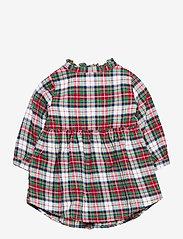 GAP - Toddler Plaid Dress - kleider - stewart plaid milk - 1