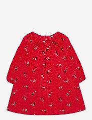 GAP - Toddler Floral Corduroy Dress - kleider - red floral print - 0