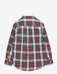 GAP - Toddler Poplin Print Shirt - overhemden - family plaid - 1