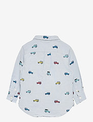 GAP - Toddler Car Print Oxford Shirt - overhemden - light blue shadow - 1