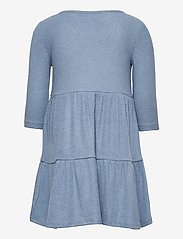GAP - Kids Softspun Tiered Dress - kleider - bainbridge blue - 1