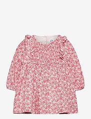 GAP - Baby Floral Smocked Dress - kleider - ivory frost - 0