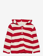 GAP - Baby Stripe Sweater - gilets - pure red stripe - 0