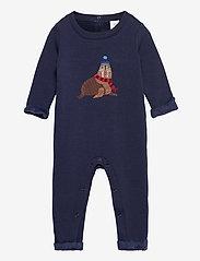 GAP - Baby Cozy Walrus One-Piece - langärmelig - navy uniform - 0