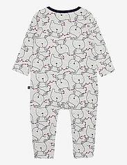 GAP - Baby Footless One-Piece - langärmelig - light heather grey b08 - 1