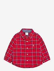 GAP - Baby Plaid Flannel Shirt - overhemden - modern red 2 - 0