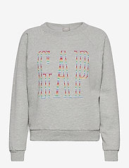 GAP - Gap Logo Raglan Crewneck Sweatshirt - sweatshirts - b10 grey heather - 0