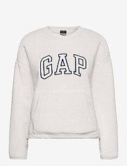 GAP - GAP SHERPA PO CR - sweatshirts - milk 600 global - 0