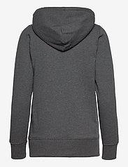 GAP - GAP SHINE FZ HD - hoodies - charcoal heather - 1