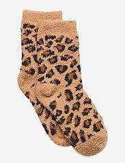 Kids Cozy Fuzzy Socks - LEOPARD PRINT