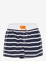 GAP - Toddler Stripe Swim Trunks - badehosen - breton stripe blue - 0