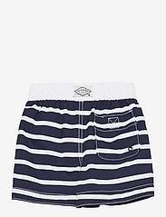 GAP - Toddler Stripe Swim Trunks - badehosen - breton stripe blue - 1