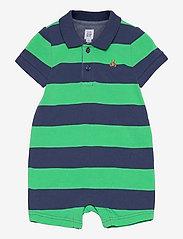 GAP - Baby Polo Shorty One-Piece - kurzärmelig - parrot green 385 - 0