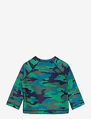 GAP - Toddler Recycled Graphic Rash Guard - koszulki - camo - 1