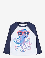 Toddler Recycled Graphic Rash Guard - ELYSIAN BLUE