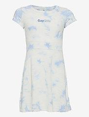 GAP - IE SS JERSEY LOGO DRS - robes - tie dye - 0
