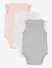 GAP - Baby 100% Organic Cotton Mix and Match Bodysuit (3-Pack) - korte mouwen - multi - 6