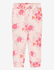 GAP - Toddler Print Pull-On Joggers - trousers - pink floral 1 - 0