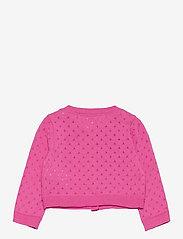 GAP - Toddler Pointelle Cardigan - gilets - neon pink rose - 1
