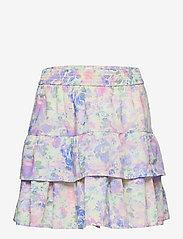 GAP - Kids Tiered Watercolor Skirt - purple print - 0
