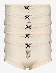 GAP - Kids 100% Organic Cotton Hipster Bikini (5-Pack) - multi - 0