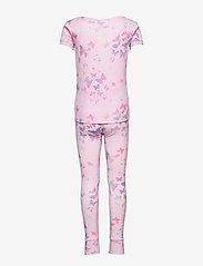 GAP - Kids 100% Organic Cotton Butterfly PJ Set - sæt - lilac - 1